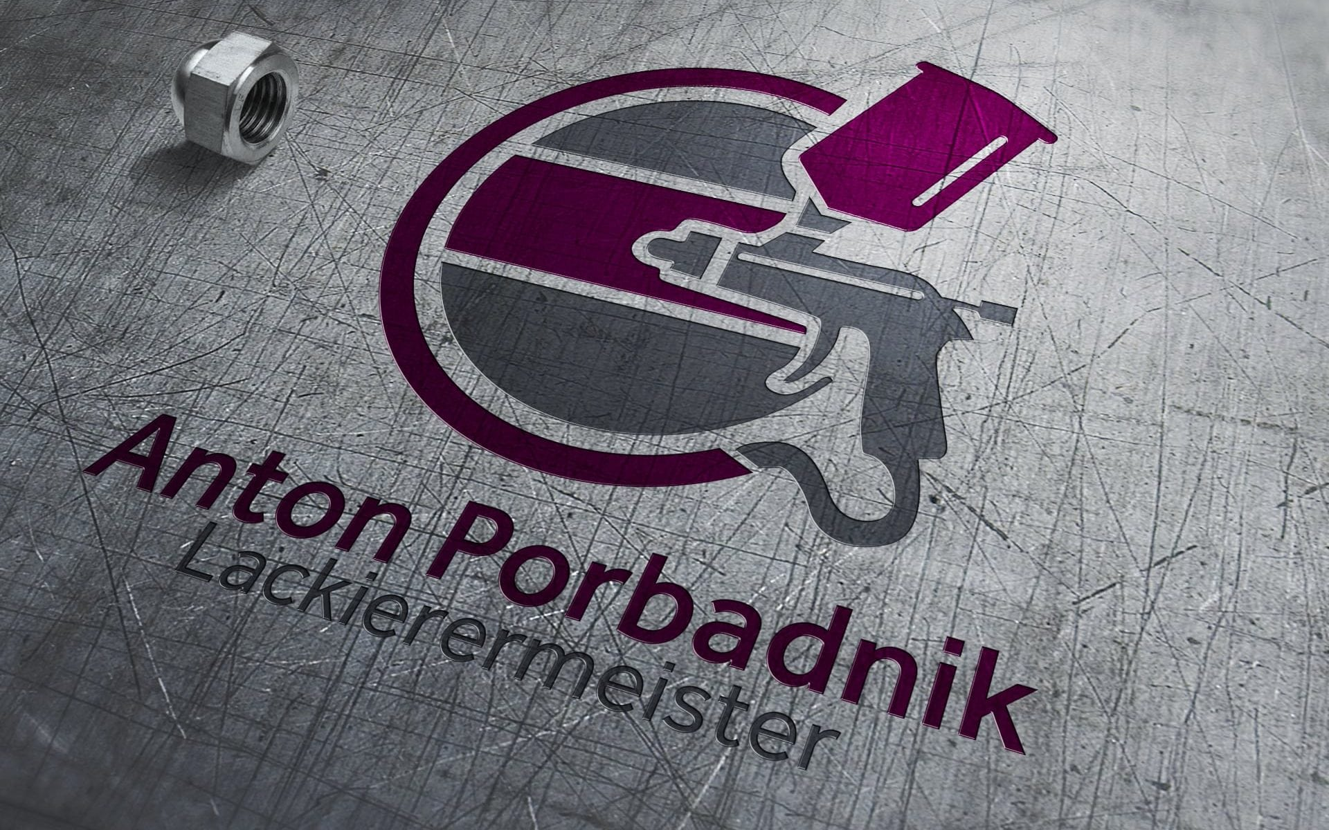 Logo Lackierermeister Anton Porbadnik