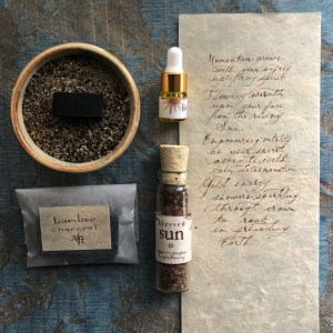 Blessed Sun | Small Ritual Set | Jupiters Daughter Apothecary