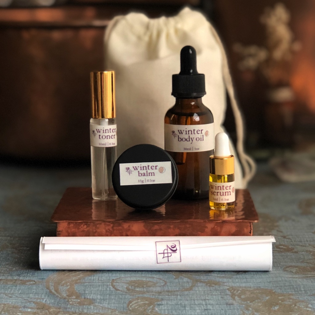 Seasonal Skin Care   Winter Collection   Jupiter's Daughter Apothecary