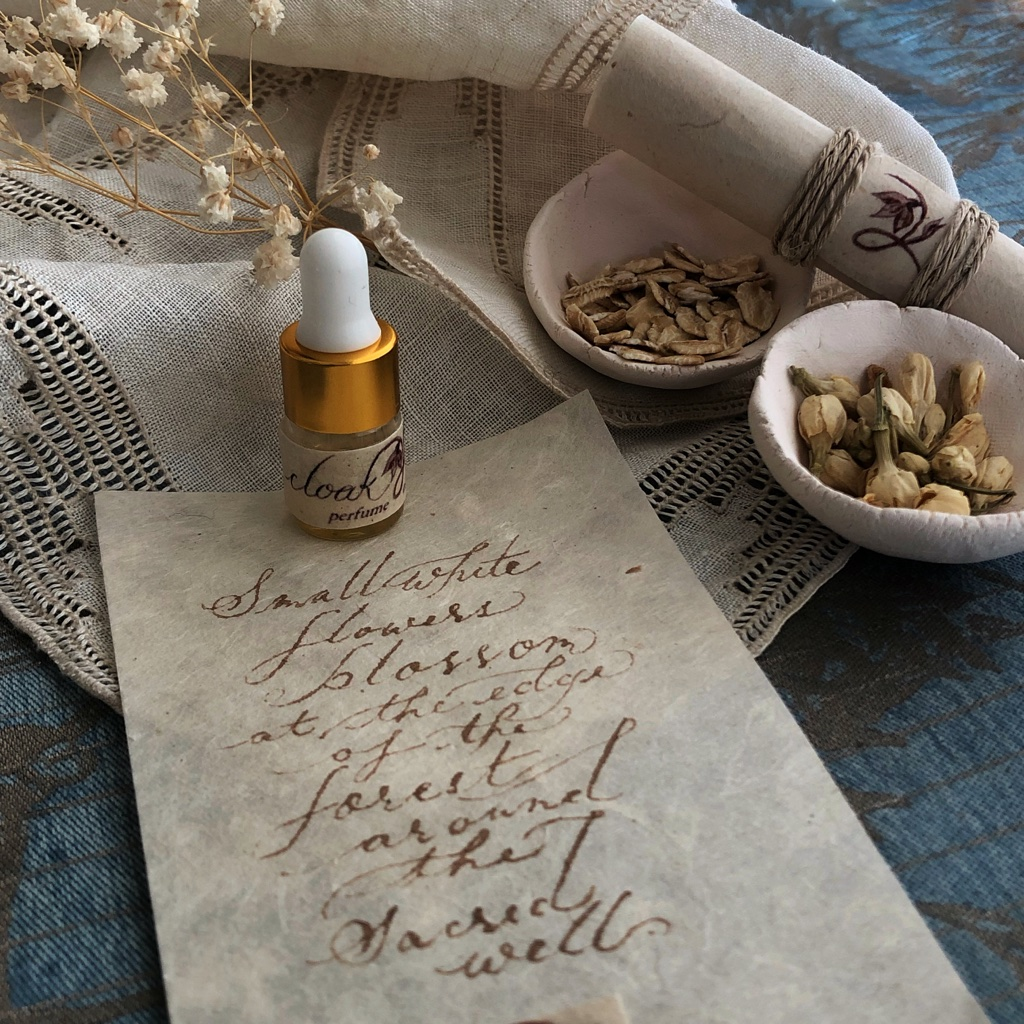 Cloak & Well Perfume Oil by Jupiter's Daughter Apothecary