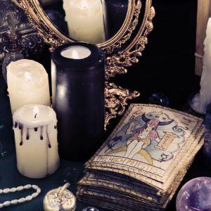 candle, dark , book