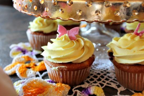 Saskatoon Cupcake