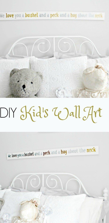 diykids wall art, diywall art, bushel and a peck, diy wood art, diyrustic art, bushel and a peck rustic wood wall art,