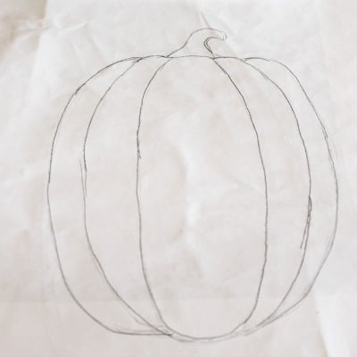 Pencil Pumpkin