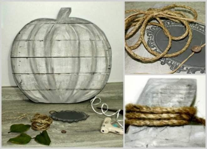 Pumpkin, Fall, DIY, Home Decor, Pallet
