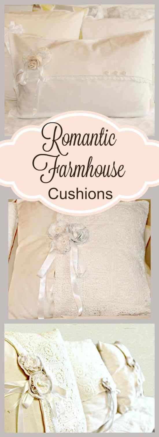 DIY, Home Decor, Farmhouse, Cushions