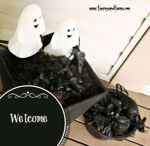 Halloween, Home Decor, Vignettes, Fall, DIY