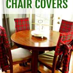 Chair Covers Diy Physio Ball Christmas Tartan Of Faeries Fauna Craft Co In Red Tartam With Long Bow Sashes