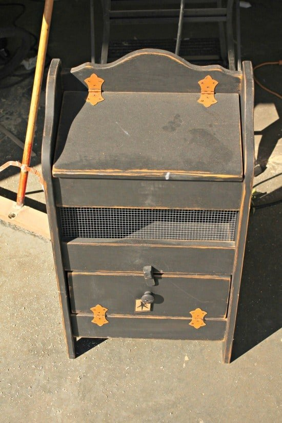 Refurbish, DIY, Crafts, Recycling, Home Decor, vegetable bin