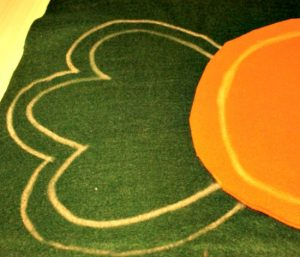 DIY, Easter Cushion, Crafts, Sewing, Felt Crafts, Giant Carrot
