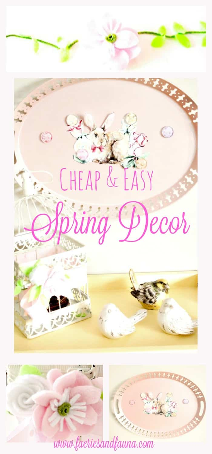 Cheap Spring Decorations: DIY Cheap Spring Decorations