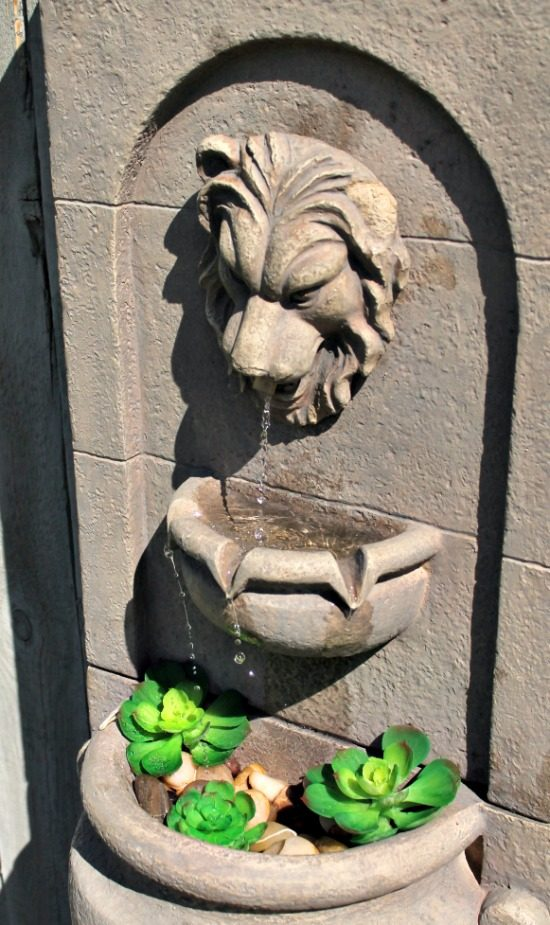fountain repair, how to fix a fountain, garden fountains, cheap water fountain