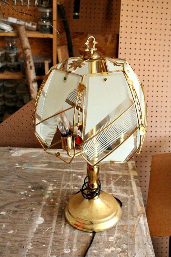 shabby chic lampshad ideas, shabby chic amp, shabby chic, diy shabby chic lamp, lamp makeover