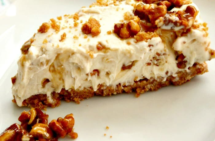 Maple walnut ice cream cake recipe.