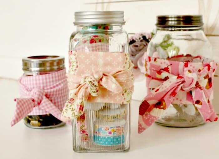 Craft storage ideas DIY, DIY craft room storage,mason jar storage