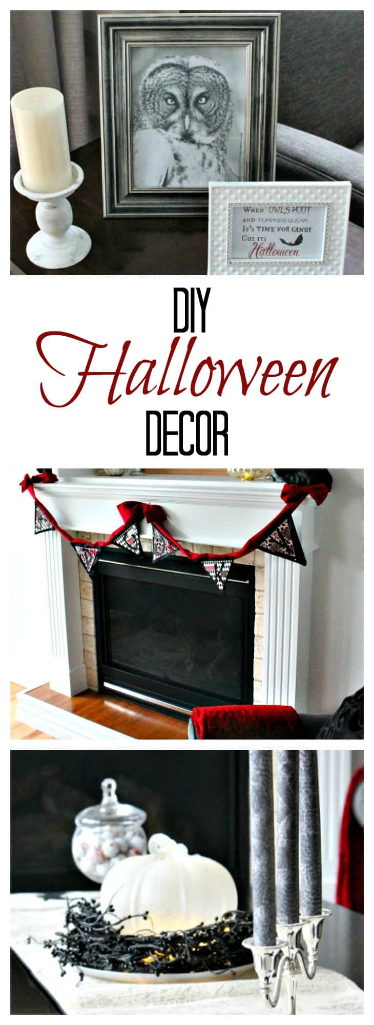 bling on halloween with pretty diy halloween decorations - of