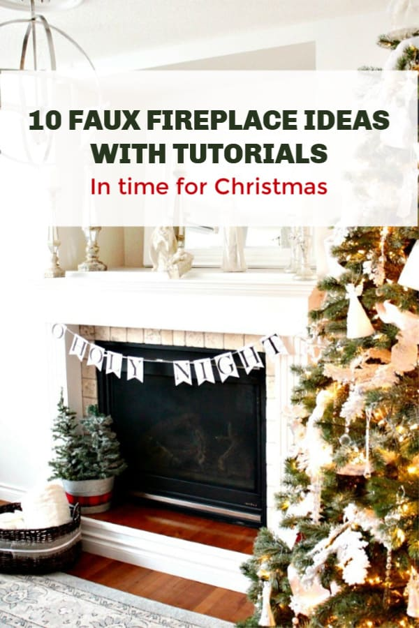 10 faux fireplace ideas
