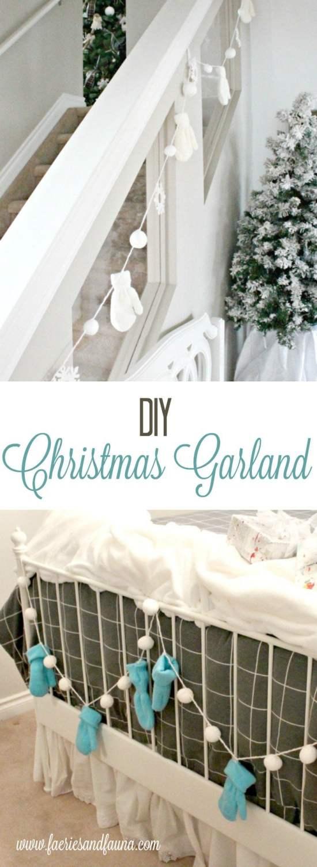 diy Christmas banner,dollar store Christmas Crafts, easy Christmas crafts for adults,how to make Christmas decorations,DIY Christmas Garland,