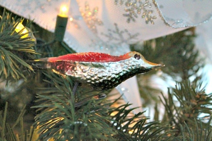 christmas tree decorations ideas an antique bird ornament is included as it is an heirloom - Bird Christmas Tree Decorations