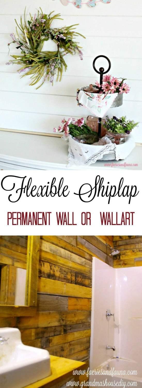 Two types of DIY shiplap. diy shiplap wallart, shiplap bathroom, installing shiplap interior, shiplap house,