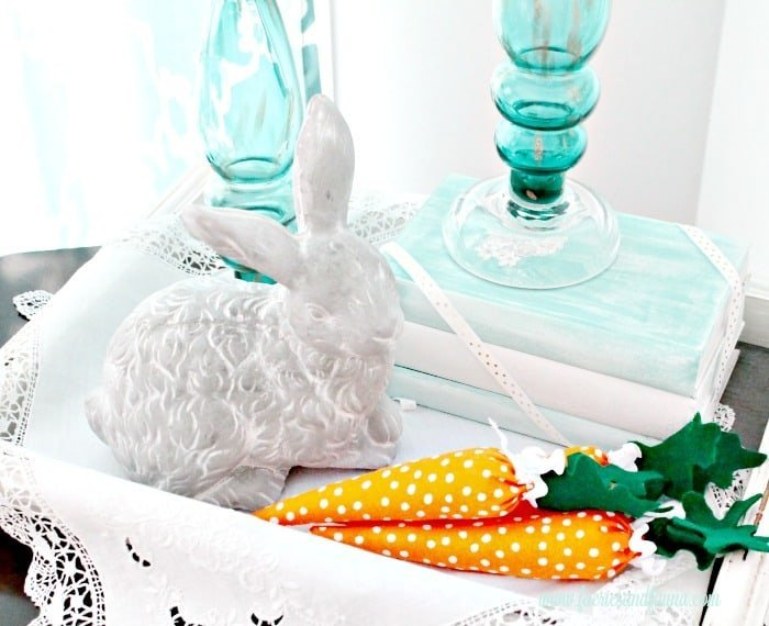 Easter Decorating Ideas Using Mini Carrots