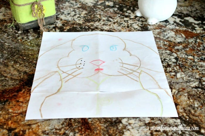 How to Make a Bunny Chalkboard for your Easter Decorating