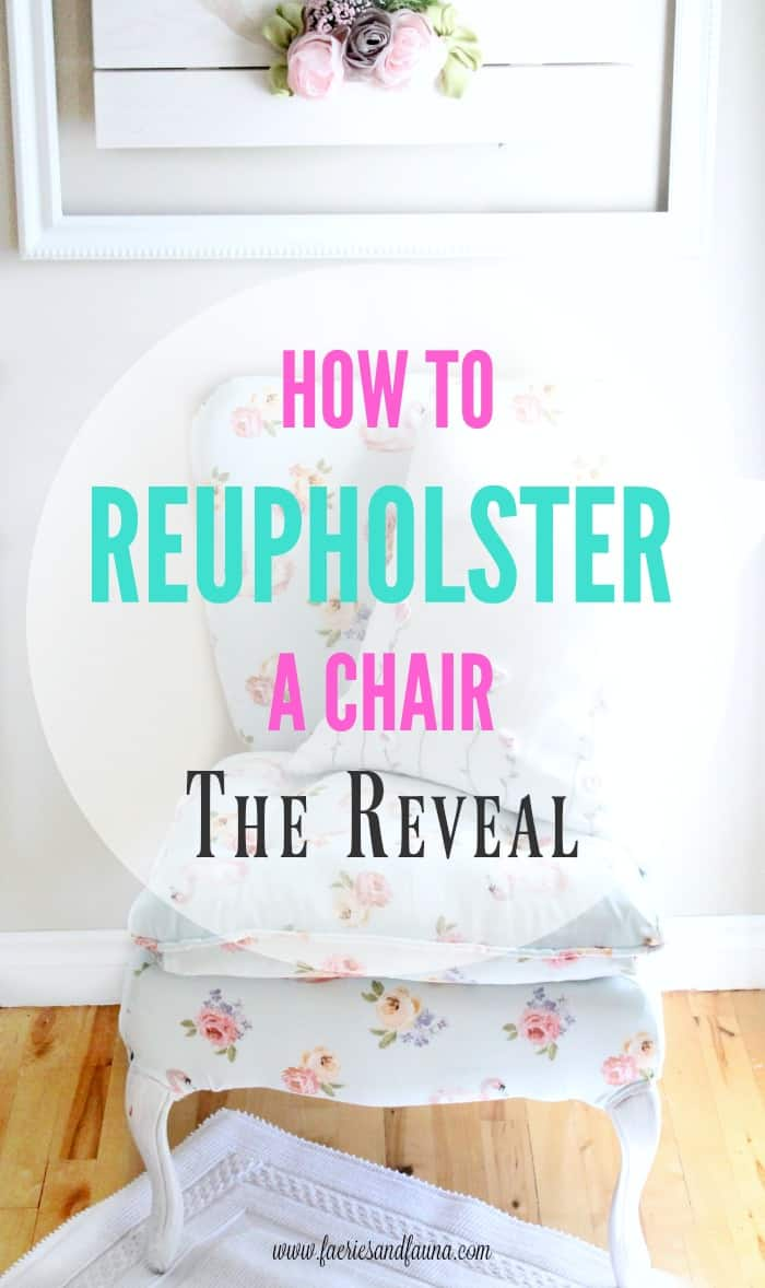how to reupholster a thrift store chair a step by step tutorial
