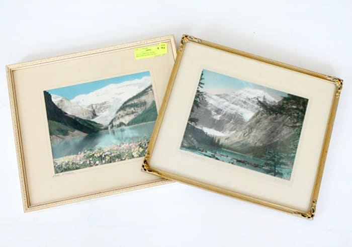 Old frames in need of cleaning, with dull gold patina. DIY floating frame, floating frame, frame ideas, floating picture frame diy, diy picture frame