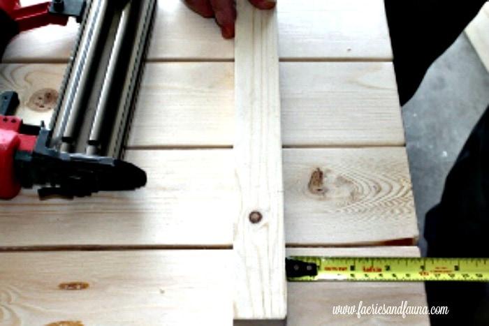 Adding braces to DIY planter