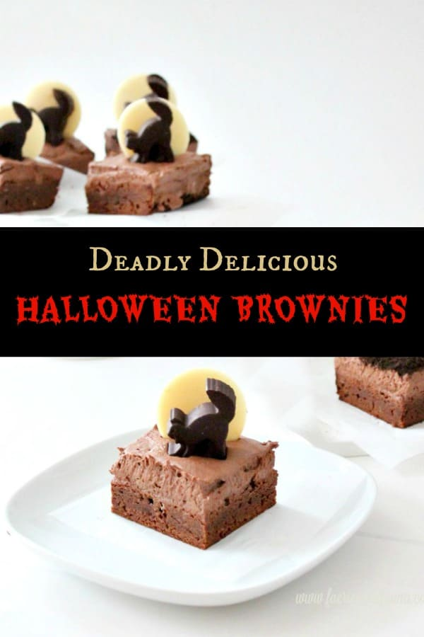 Deadly Delicious Halloween Brownies