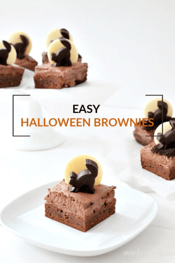 Easy Halloween Brownies a special Halloween treat