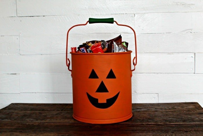 Waste Not Wednesday feature Halloween Bucket