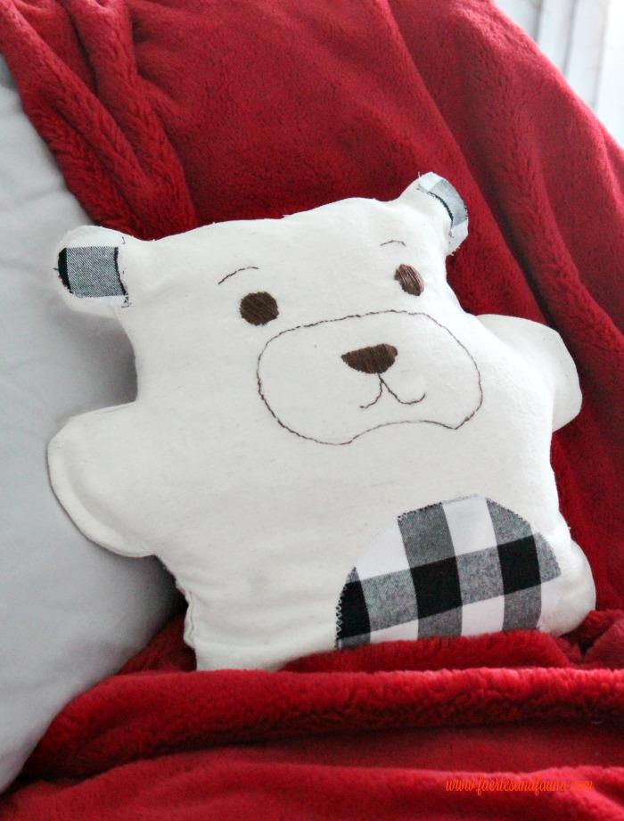 How to make a Pajama bag for Christmas decor