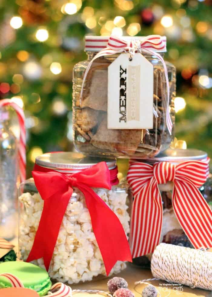 Christmas Wrapping idea for baking goods