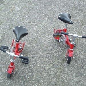 Mini fietsjes