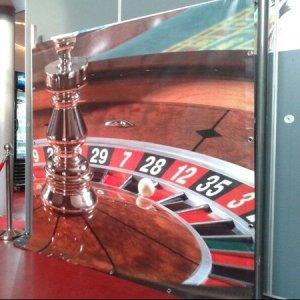 Achterwand casino
