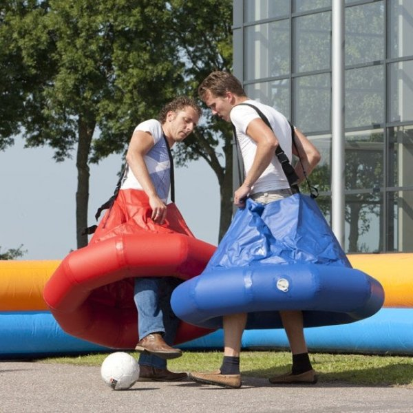Rokvoetbal + boarding