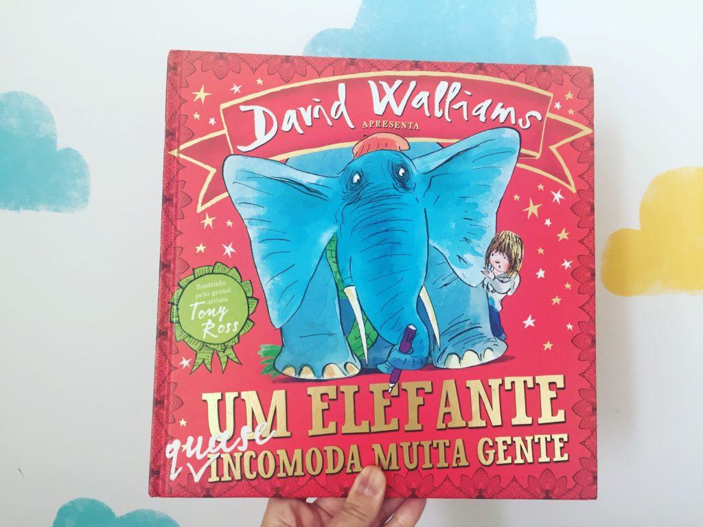 um elefante incomoda mta gente capa livro