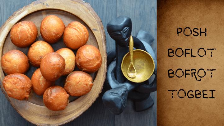 THE GHANAIAN DRY DOUGHNUT RECIPE (BOFLOT, BOFROT, TOGBEI)