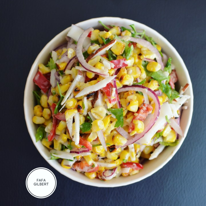 SMOKY CORN SALAD RECIPE