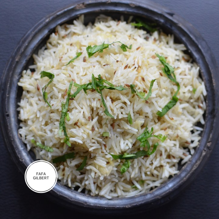 BUTTERED CUMIN RICE RECIPE