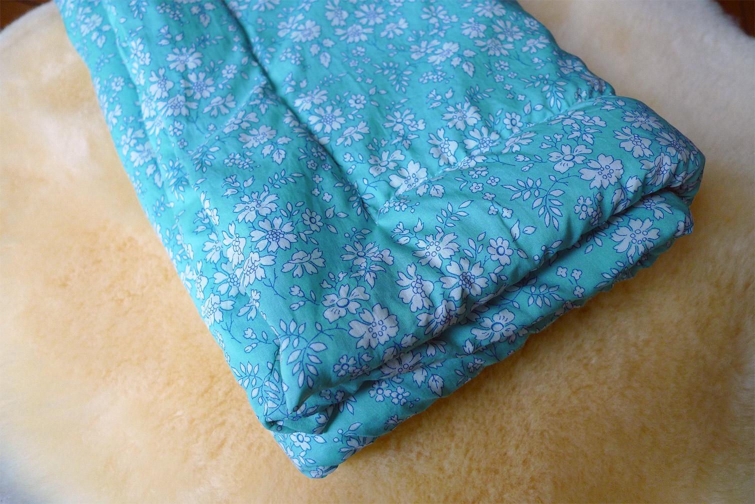 tuto tricoter et doubler un plaid pour b b fafaille studio. Black Bedroom Furniture Sets. Home Design Ideas