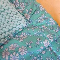 Tricot - Tuto - Tricoter et doubler un plaid pour bébé
