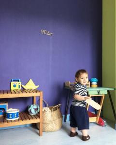 Petit chat marin milanmacanaille babyroom kidsroom decoration madecoamoi