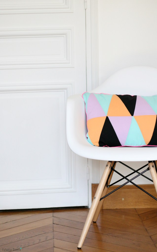 Coussin triangles