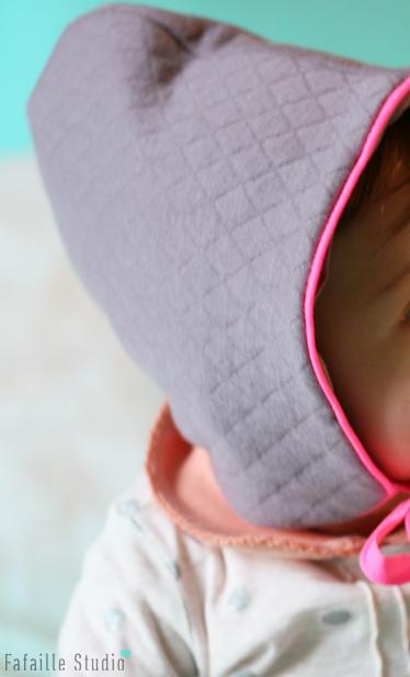 Tuto - Coudre un béguin pour bébé (patron inside !)