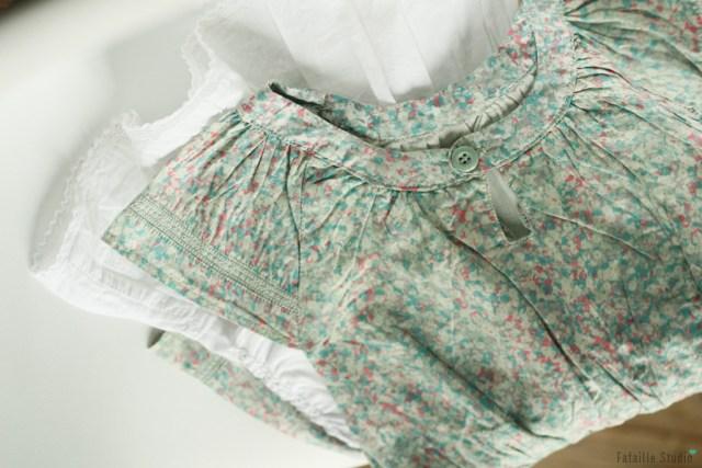 Robes pour bébé fille chinées