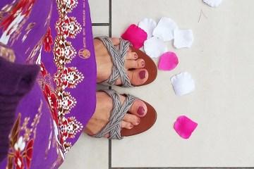 Ma jupe longue cambodgienne