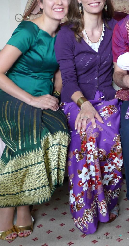 Ma jupe cambodgienne