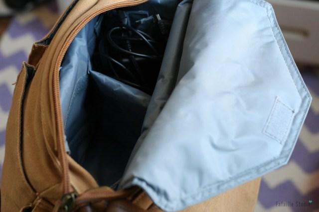 Intérieur sac pour appareil photo Backpacker